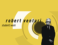 Student's work about Robert Venturi