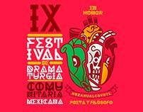 IX festival de dramaturgia comunitaria