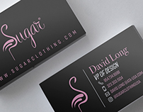 Business Card Design - Clothing Brand