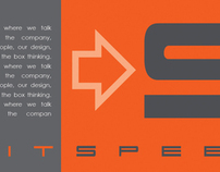 Exhibit Speed Corporate Identity/Promo Piece Prototype