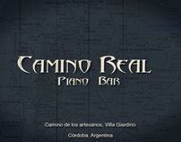 Camino Real piano bar promo