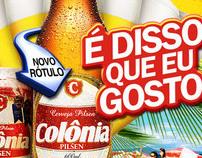 Website Cerveja Colônia