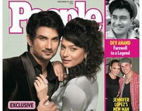 PEOPLE MAGAZINE Cover -SUSHANT SINGH RAJPUT