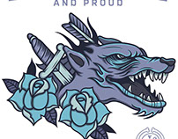 Illustration for Honour & Proud Clothing Company