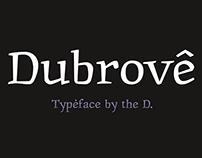 шрифт Дуброве | Dubrove typeface