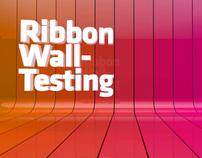 [test] 2011 C4D_Ribbon Wall Testing