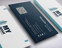 MY İnşaat Kartvizit | MY Construction Business Card