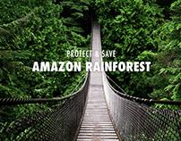 Protect & Save Amazon Rainforest