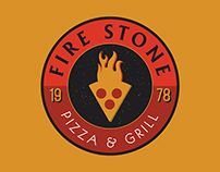 Fire Stone Pizza Branding