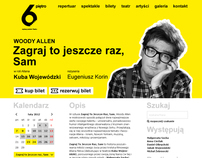 Teatr 6. piętro - website