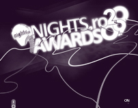 Logo design, identity, branding - nights.ro awards 2009