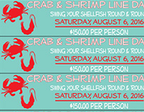 Crab & Shrimp Line Dance Tickets