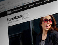 Fabulous Gifts | Webdesign