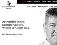 Harrison Pensa LLP Website