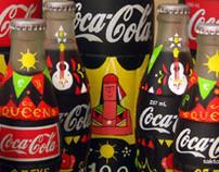 Coca Cola handpainted bottles