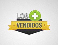 """Falabella Logo """"Los Más Vendidos"""""""