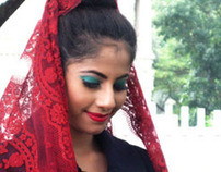Red Riding Veil - Beauty make up 2012
