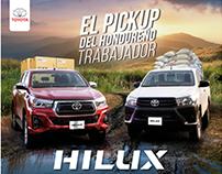 Arte Toyota Hilux 2019