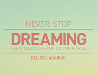 Believe. Achieve.