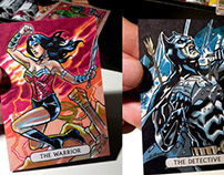 DC Justice League Sketchcards