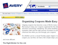 Avery How-To  Article