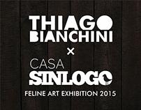 FELINE ART EXHIBITION AT CASA SINLOGO