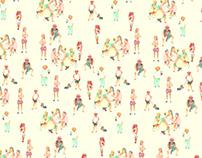 Beijing summer pattern