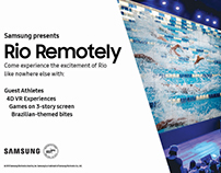Samsung 837: Rio Remotely OOH Assets
