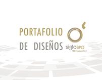 SigloBPO - Portafolio de diseños