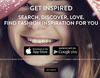 FashDrobe Landing Page