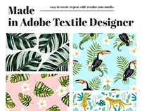 Adobe Textile Designer - Brand and Marketing Design