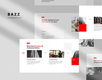 Free BAZZ Animated Presentation Templates