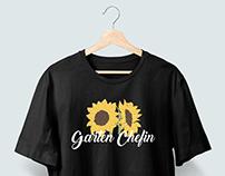 T-shirt design project for a clients merch