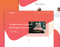 GoInterior-Interior Design Agency Landing Page