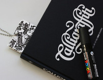 Calligraffitti Bookmark