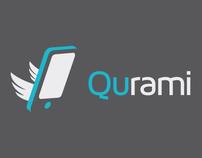 Qurami - Logo  & Landing page