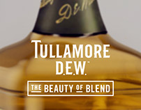 Tullamore Irish Whiskey Promotion Artwork