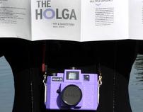 Holga instructions concept