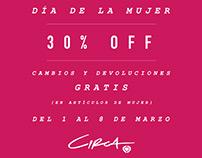 Día de la mujer - C1rca Argentina