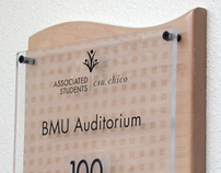 BMU Student Union Environmental Signage