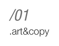 Portfolio - 01- Art&Copy