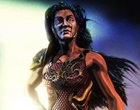 Wondergirl of Teen Titans