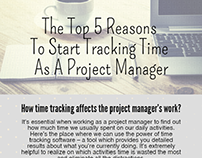5 Reasons To Start Tracking Time as a Project Manager
