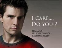 AIDS celebrity AD