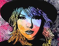 Illustration for Taylor Swift