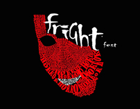 Frightfest Film Typography Posters