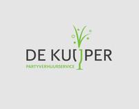 De Kuijper Partyverhuurservice Logo Identity Design