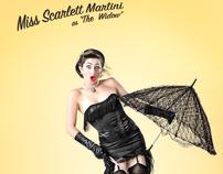 Miss Scarlett Martini