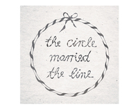 The circle married the line
