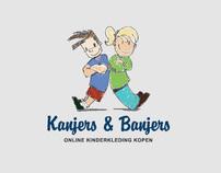 Logo Design Webshop Kids Clothing - Kanjers & Banjers
